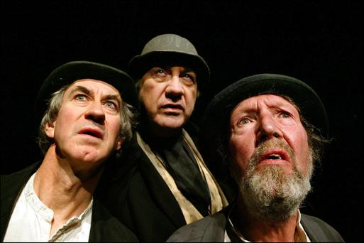 Johnny Murphy (right) as Estragon in 'Waiting for Godot'. Photo: Marc O'Sullivan