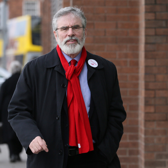 Sinn Féin leader Gerry Adams. Photo: Collins