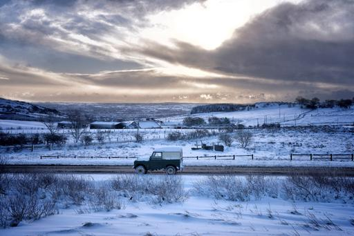 AA Roadwatch have warned motorists to slow down and leave extra time to reach their destination. Stock picture