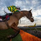 WHERE'S ME JUMPER? Nina Carberry will hope to make short work of the fences in the Cotswolds this week. Photo: Alan Place