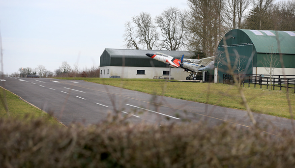 The runway at the Larkin family home at Dollys Grove at Staffordstown near Dunboyne, Co Meath. Photo: Steve Humphreys