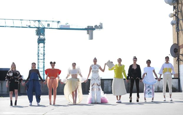 Top 9 student designs for DIT Fashion Show under theme of