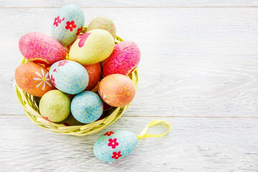 The tradition of Easter eggs can be traced all the way back to the goddess Eostre.