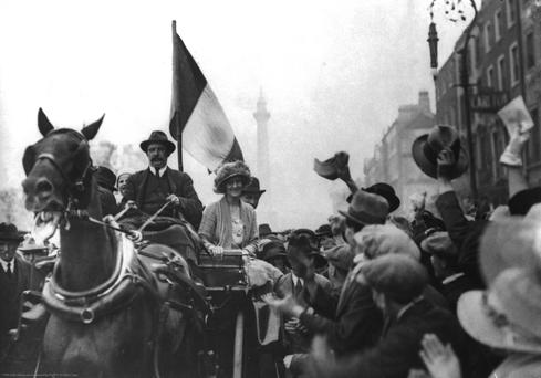 Countess Markievicz (1917). Photo: National Museum of Ireland