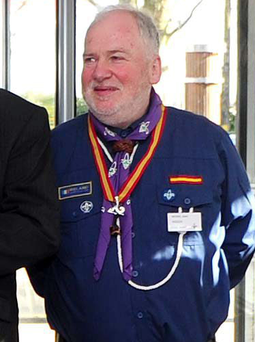 Michael John Shinnick (61) pictured, posted the poignant message on Scouting Ireland's website.