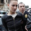 Michaella McCollum after her arrest in 2013. Photo: AP Photo/Martin Mejia