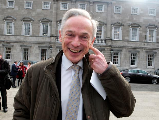 Richard Bruton: lobbied by insurance firms