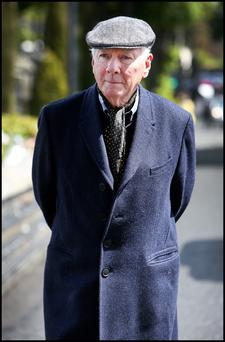 Gay Byrne. Photo: Steve Humphreys