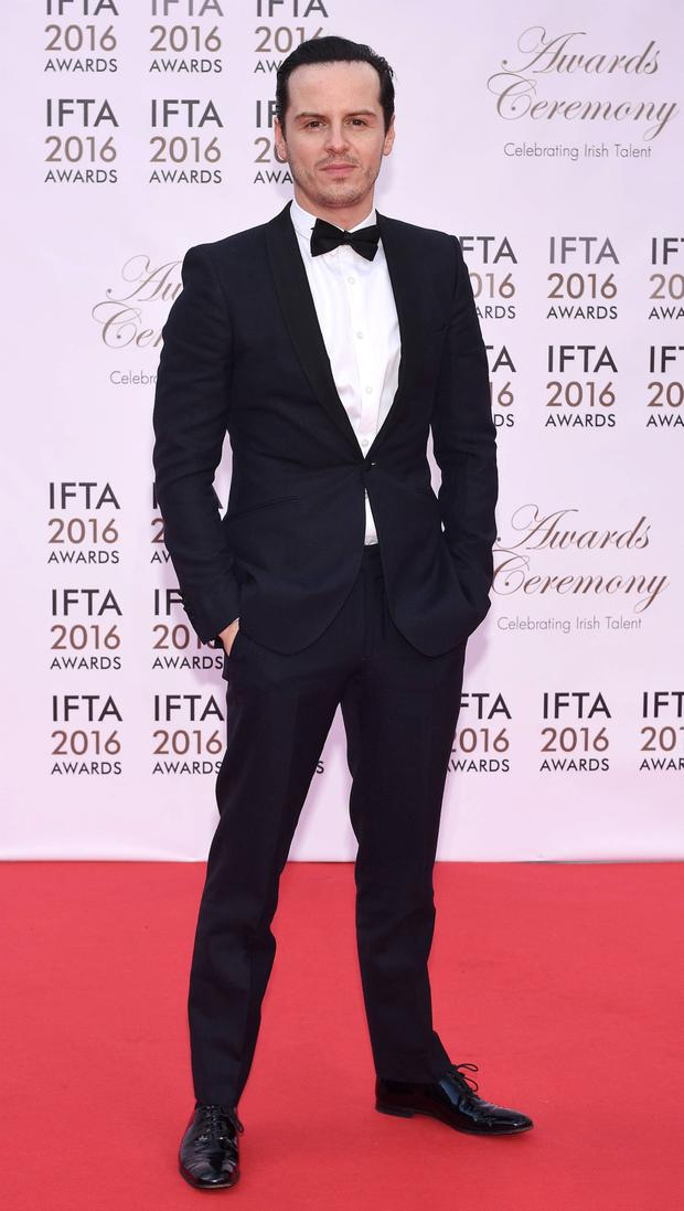 Andrew Scott at the IFTAs