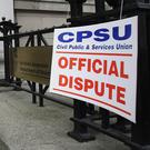 The Public Service Executive Union (PSEU) president Maria Ryan discussed the possible formation of a mega union involving the PSEU, IMPACT and the Civil Public and Services Union (CPSU). Photo: PA