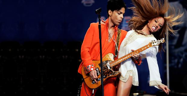 Prince performing in Miami in 2007. Photo: Reuters