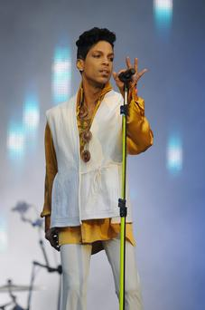 Prince performs in Paris in 2011. Photo: Sunday World