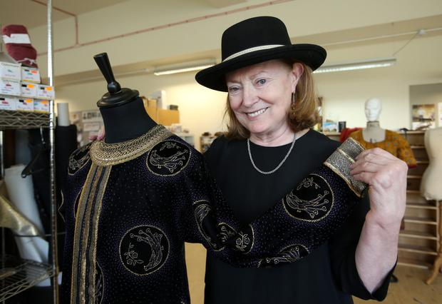 Costume designer Joan Bergin is set for Fastnet Film Festival. Photo: Frank McGrath.
