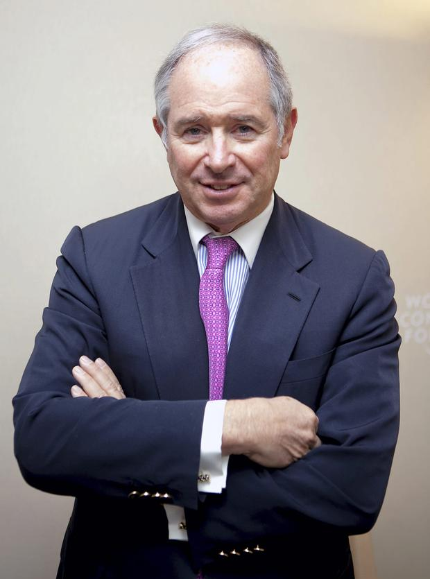 Blackstone chief Stephen Schwarzman saw an opportunity in Ireland