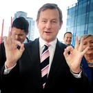 Enda Kenny. Photo: Tom Burke