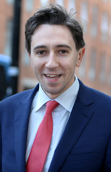 Health Minister Simon Harris Photo: Tom Burke