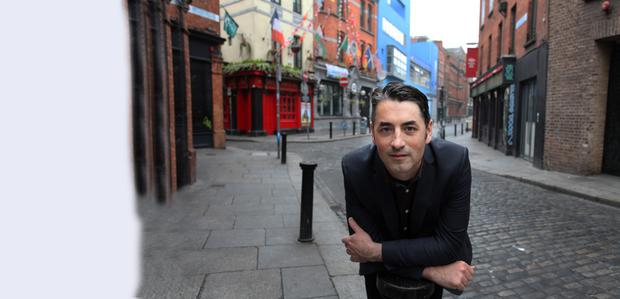 In it for the long-term: Declan O'Brien of the Temple Bar Residents Association is against short-term lettings.