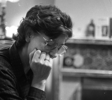 Philip's mother Alice, pictured at her home in Rathfarnham, Dublin shortly after her son's disappearance