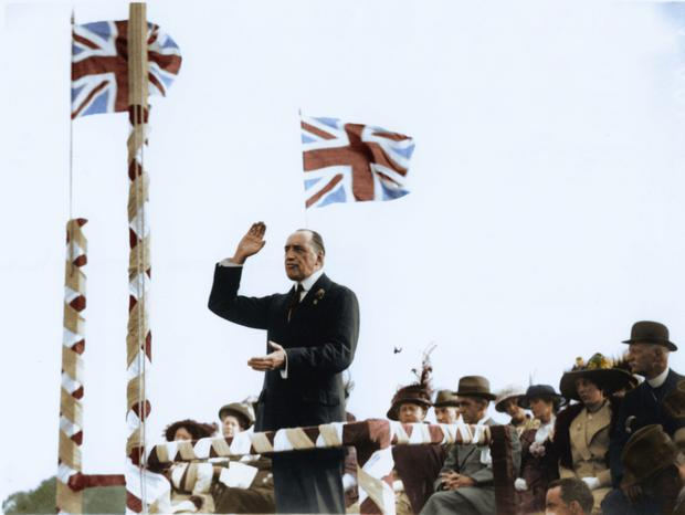 Uncrowned King of Ulster: Edward Carson - but was he Ireland's greatest hypochondriac?