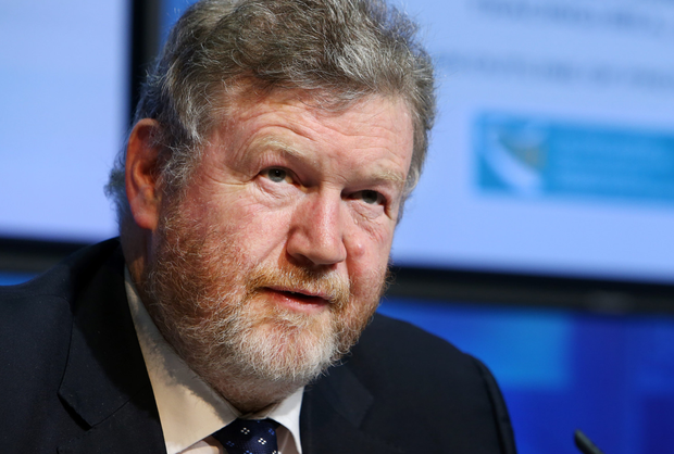Taoiseach Enda Kenny has stripped Dr James Reilly of his deputy leadership of Fine Gael, seen as a direct response to Dr Reilly's call for a referendum to repeal the Eighth Amendment last year. Photo: Steve Humphreys