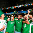 Ireland fans are shelling out huge sums for tickets for Sunday's Euroe 2016 clash against France. Photo: Mark Condren