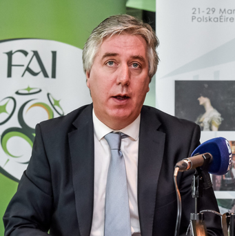 FAI chief John Delaney Photo: Sportsfile