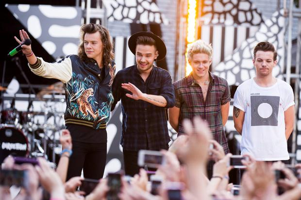 2. ONE DIRECTION (musicians) €99.3m