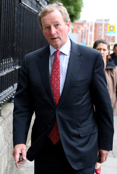Taoiseach Enda Kenny will restructure his department Photo: Tom Burke