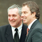 Bertie Ahern and Tony Blair both left their respective parties in very poor shape Photo: PA