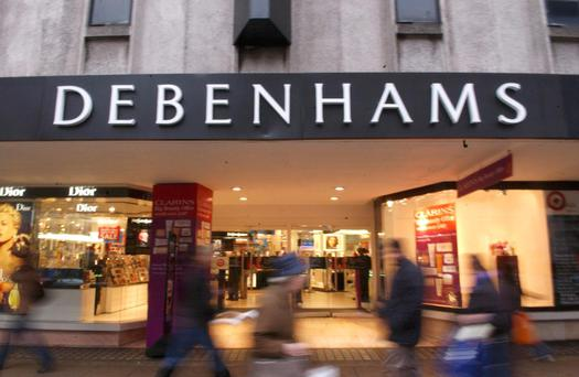 Debenhams is set to emerge from Examinership