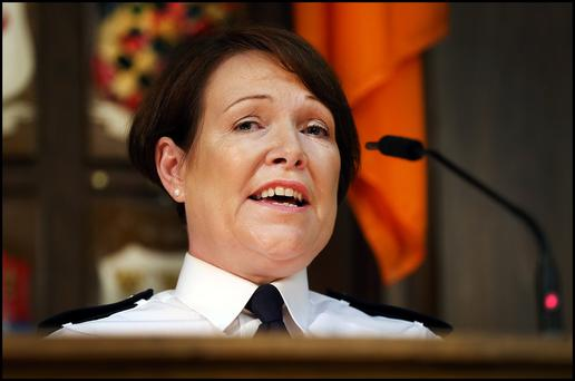 Garda chief Nóirín O'Sullivan. Photo: Steve Humphreys