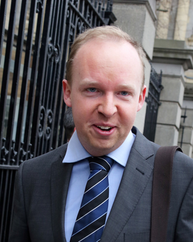 Noel Rock, Fine Gael TD. Photo: Photo: Tom Burke