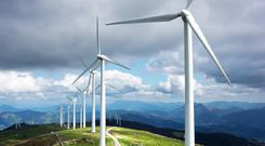 In excess of 190 wind farms have been installed in Ireland since 2003