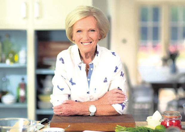 Heat in the kitchen: GBBO host Mary Berry