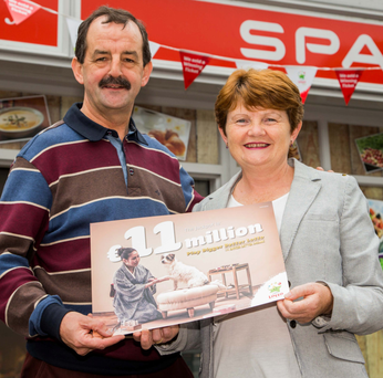 Shop owners Noel McGowan and Martina McGowan Photo: James Connolly