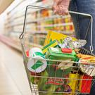 The amount Irish people spend on everyday grocery items, such as food, drinks and toiletries, has jumped year-on-year for the fifth consecutive quarter. Stock Image