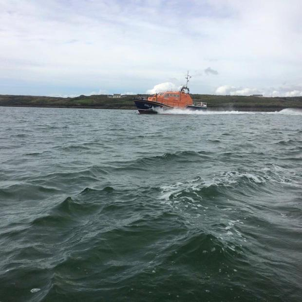 The Baltimore Lifeboat crew were called to rescue the woman. Photo: Facebook
