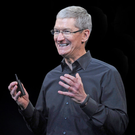 Apple boss Tim Cook. Photo: Bloomberg