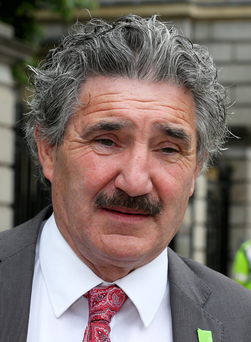 Seeking Dáil debate: Junior minister John Halligan Photo: Tom Burke