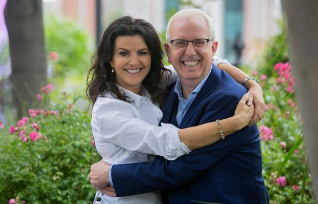 Bringing the funny: Deirdre O' Kane and Rory Cowan are the new voice-overs of Gogglebox. Photo: Gareth Chaney Collins