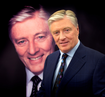 Pat Kenny at the launch of his new TV3 current affairs show Photo: David Conachy