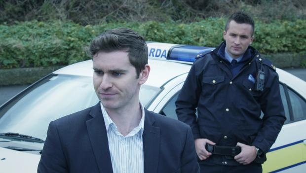 Detective Rory Walsh (played by Chris Newman) and Officer Sean Holden (played by David Crowley)