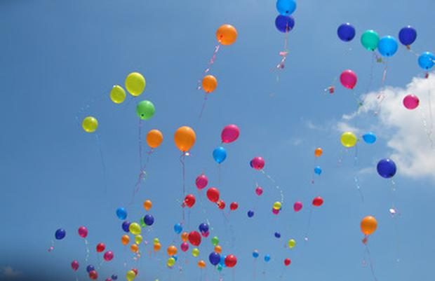 Balloon releases can be