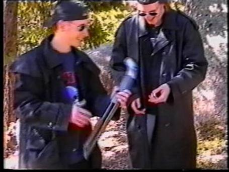 Eric Harris (L) and Dylan Klebold. Photo:Getty Images