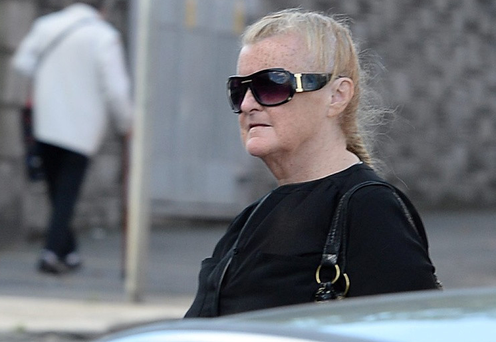 Catherine Nevin photographed on day release
