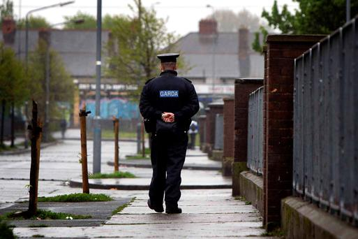 Members of the garda risk breaking the law unless they get 'tangible increases in pay'. Stock picture