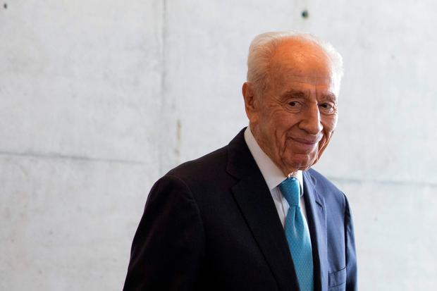 Israeli President Shimon Peres pictured in Tel Aviv in May. Picture: Getty