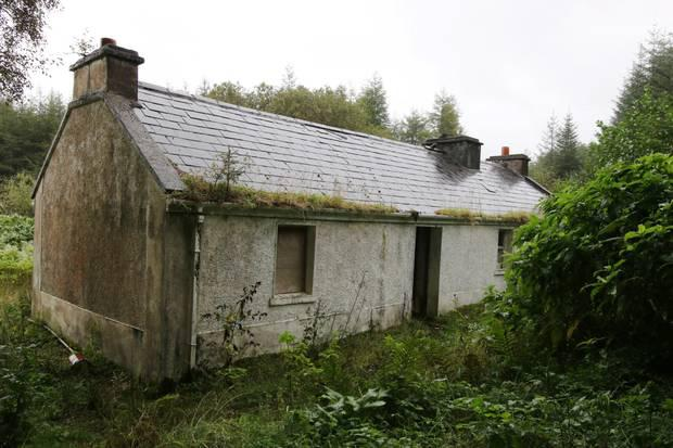 The house where Donaldson was killed