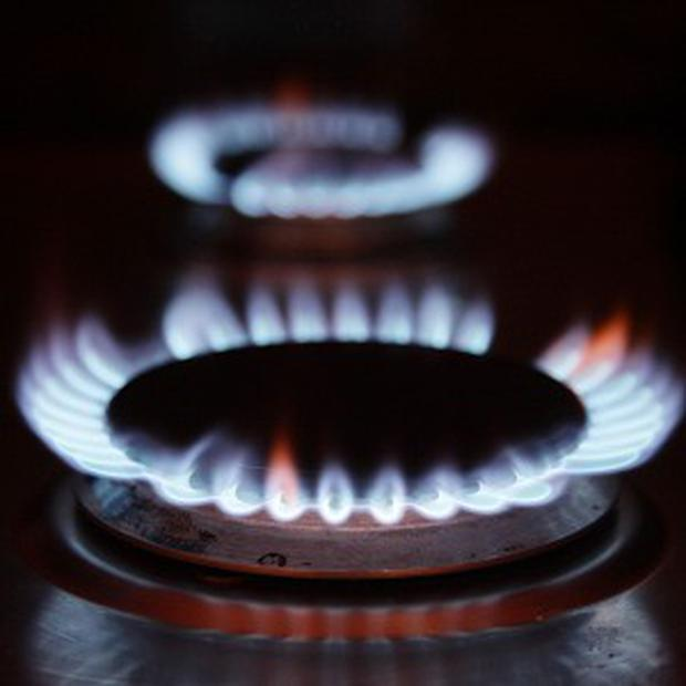 Natural gas Stock photo: PA Wire/Press Association Images