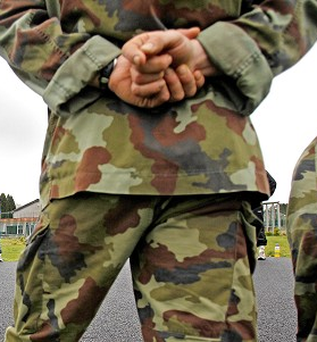 Around 50 members of the Defence Forces are leaving every month Photo: PA Archive/Press Association Images